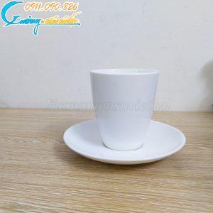 Ca sứ Minh Châu trắng không quai- CST07