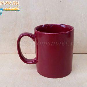 Ca sứ quai C full màu tím đỏ