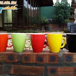 Ca sứ thóp có màu sắc đa dạng, kiểu dáng đẹp tại Xưởng Gốm Sứ Việt