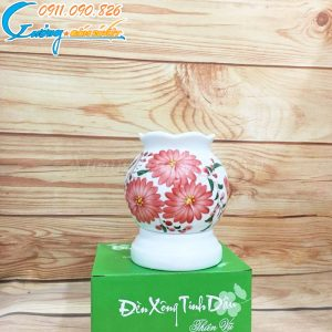 Đèn xông tinh dầu hoa cỏ – DX20