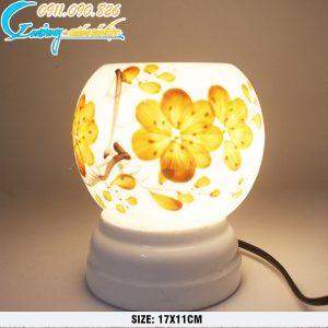 Đèn xông tinh dầu hoa mai – DX10