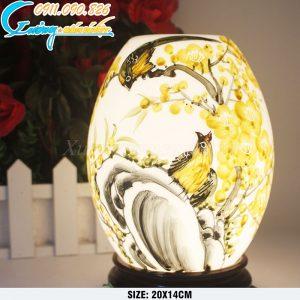 Đèn xông tinh dầu mai vàng – DX07