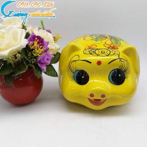 Heo đất Phát Lộc màu vàng- HĐ15