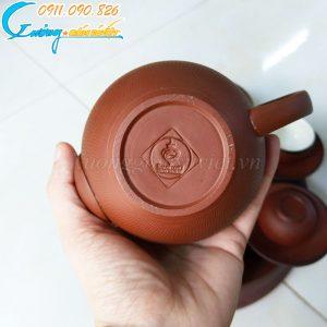 Bộ trà hồng sa nâu đỏ- BTS04