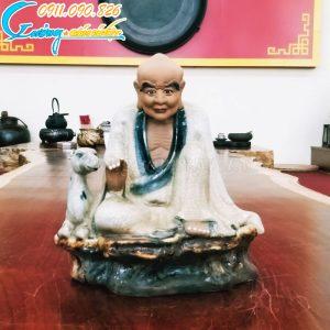 Tượng thập bát La Hán- La Hán Tọa Lộc