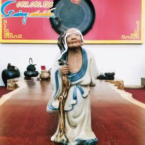 Tượng thập bát La Hán- La Hán Trường Mi