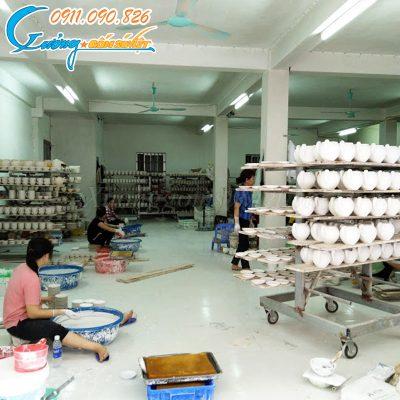 Xưởng Gốm Sứ Việt - chuyên sản xuất gốm sứ theo yêu cầu chất lượng cao