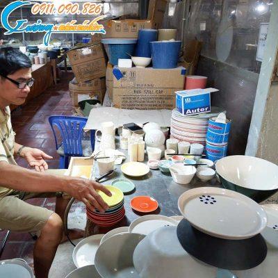 Xưởng gốm Sứ Việt- Chuyên sản xuất bát đĩa Bát Tràng xuất khẩu