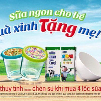Qùa tặng gốm sứ- Giải pháp quà tặng khuyến mại từ sữa