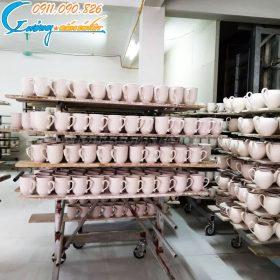Xưởng gốm Sứ Việt- địa chỉ cung cấp ly sứ, cốc sứ Bát Tràng uy tín