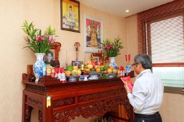 Hướng dẫn lập bàn thờ gia tiên ĐÚNG – CHUẨN   Xưởng Gốm Sứ Việt