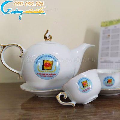 Tư vấn chọn lựa ấm chén quà tặng Đại hội tỉnh Bắc Giang