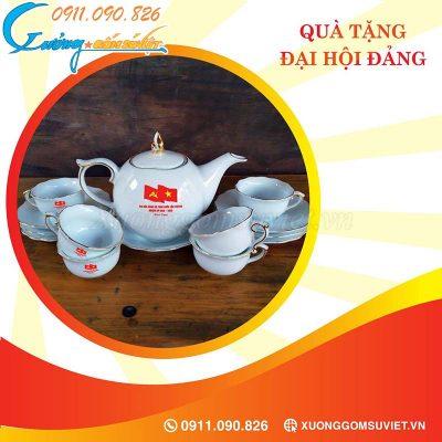Báo giá ấm chén quà tặng Đại hội tỉnh Cao Bằng