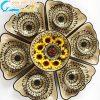 Bộ bát đĩa hoa mặt trời họa tiết hoa cúc