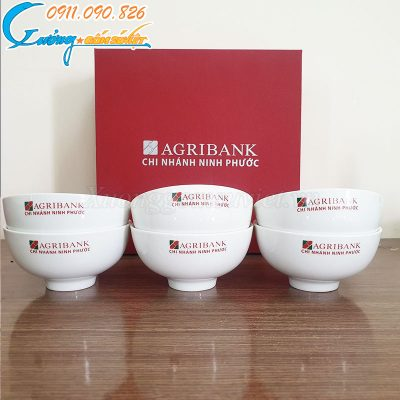 Set quà tặng khách hàng, quà khuyến mại cho Ngân hàng Agribank