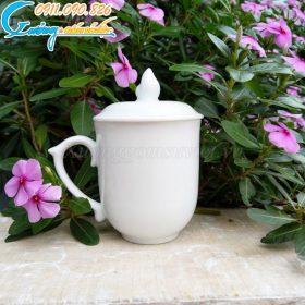 10+ mẫu cốc ly sứ trắng đẹp giá rẻ làm quà tặng khách hàng 2020