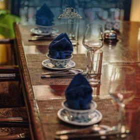 Những set bát đĩa xưởng đã góp phần manh tới không gian nhà hàng của bạn