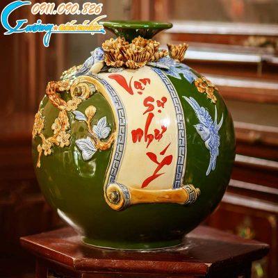 Bình hút lộc - quà tặng khách hàng sang trọng cho xuân Tân Sửu